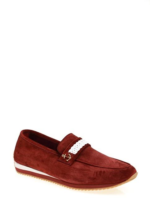 Daffari Loafer Ayakkabı Bordo
